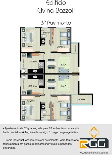 Apartamento no Nacional - 3499