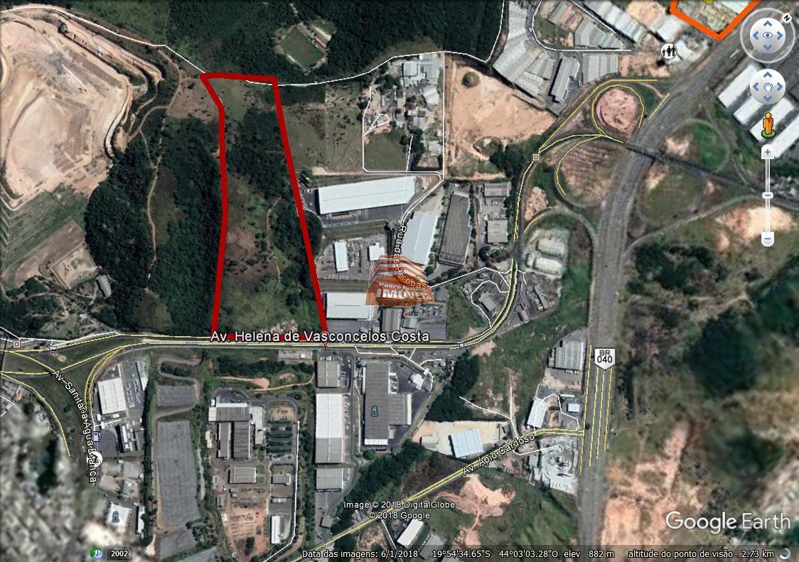 Terreno / Área - Cincão - Contagem - R$  36.000.000,00