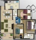 Apartamento - Castelo - Belo Horizonte - R$  359.000,00