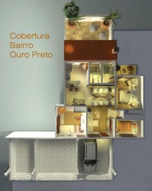 Casa   Ouro Preto (Belo Horizonte)   R$  359.000,00