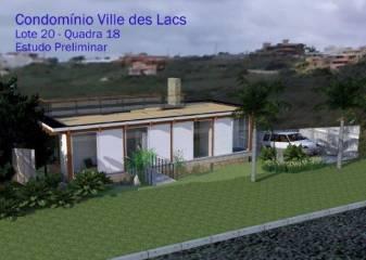 Lotes em Condomínio   Ville Des Lacs (Nova Lima)   R$  115.000,00