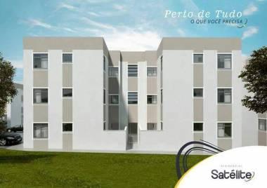 Apartamento de 44,72m²,  à venda