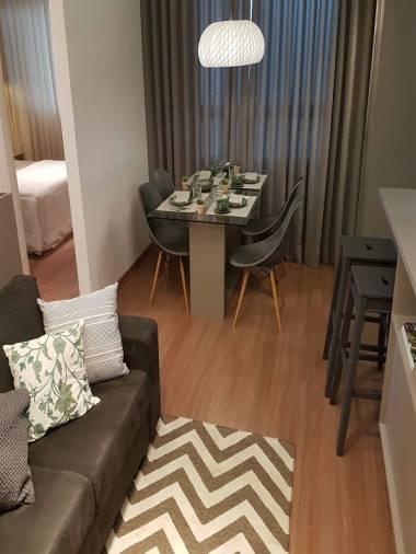 Apartamento de 45,34m²,  à venda