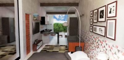 Apartamento de 35,00m²,  à venda