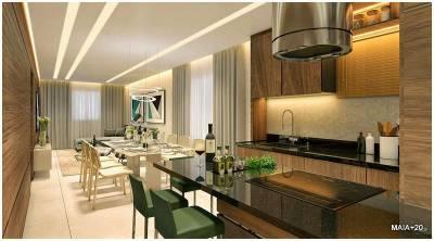 Cobertura Duplex de 161,46m²,  à venda