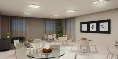 Apartamento de 44,00m²,  para alugar