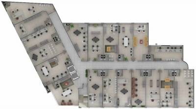 Sala de 38,00m²,  para alugar