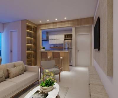 Apartamento de 73,21m²,  à venda