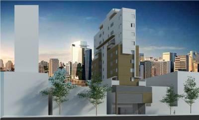 Apartamento de 37,19m²,  à venda
