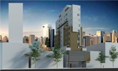Apartamento de 37,22m²,  à venda