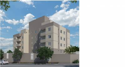 Apartamento de 48,27m²,  à venda