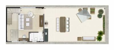 Apartamento de 101,00m²,  à venda