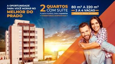 Apartamento de 81,49m²,  à venda