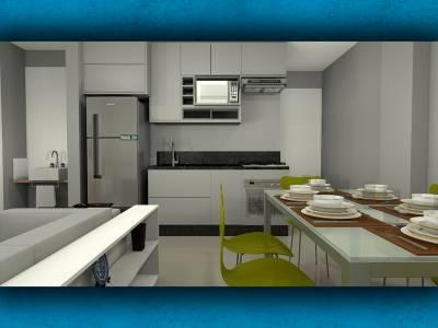 Apartamento de 36,46m²,  à venda