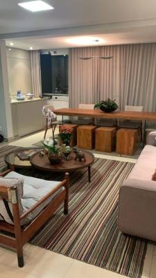 Apartamento de 113,00m²,  para alugar