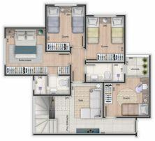 Venda - Apartamento - Santa Rosa | Imovel Rápido