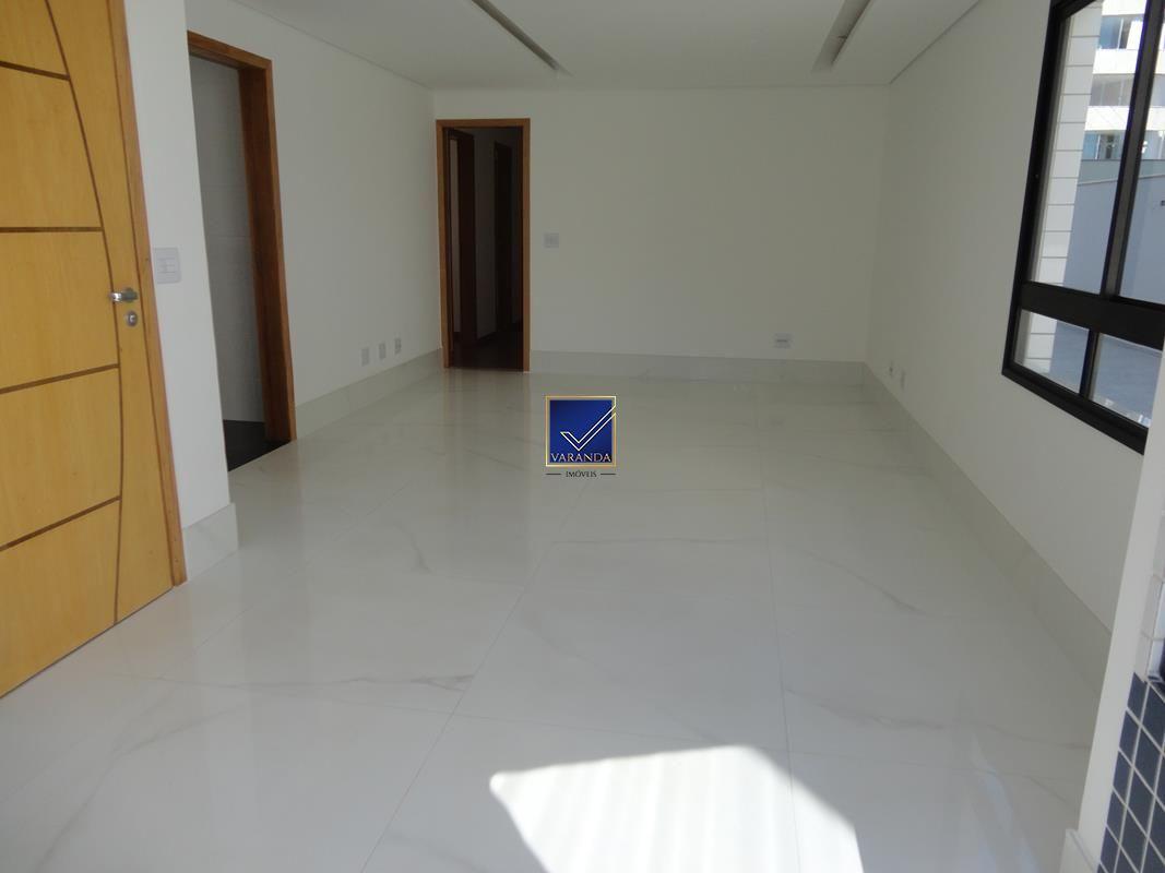 Excelente apartamento com espaçosa área privativa 3 quartos luxo novo à venda no bairro Sion