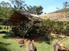 casa mista de madeira e alvenaria no Retiro do Chalé