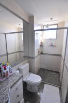 Banheiro suíte master - Apartamento 04 quartos no Ouro Preto