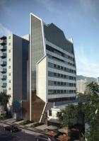 Apartamento 1 quarto em final de acabamento padrão luxo área privativa à venda no bairro de Lourdes