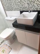Banheiro com armários