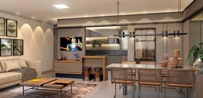 Apartamento de 86,17m²,  à venda