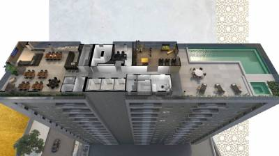 Apartamento de 63,95m²,  à venda