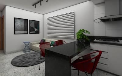 Apartamento, à Venda, 37,22 m²