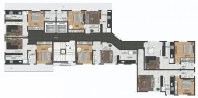 Apartamento, à Venda, 43,80 m²