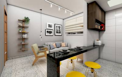 Apartamento, à Venda, 34,00 m²
