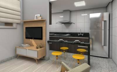 Apartamento, à Venda, 39,00 m²