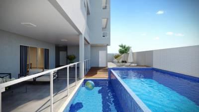 Apartamento de 72,16m²,  à venda