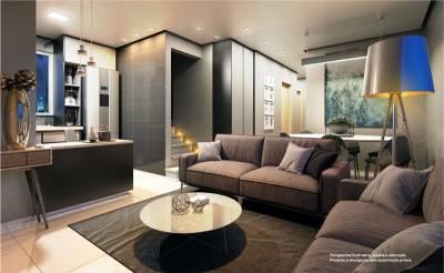 Apartamento de 61,63m²,  à venda