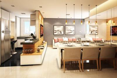 Apartamento de 81,20m²,  à venda
