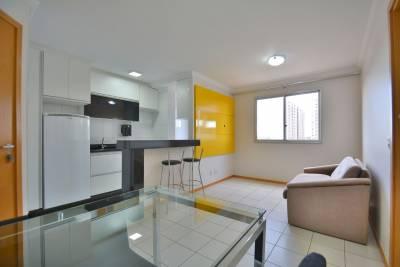 Apartamento de 36,00m²,  para alugar