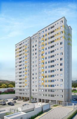 Apartamento de 56,15m²,  à venda