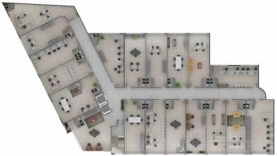 Sala de 63,00m²,  à venda