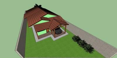 Casa de 91,00m²,  à venda