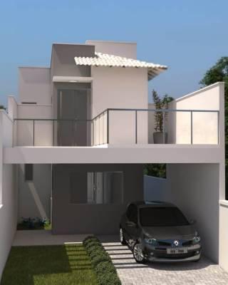 Casa de 132,00m²,  à venda