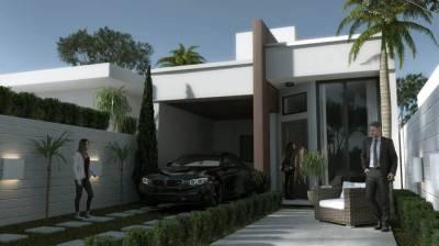 Casa de 77,00m²,  à venda