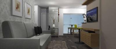 Apartamento de 62,26m²,  à venda