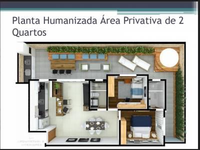 Área privativa de 87,00m²,  à venda