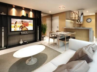 Apartamento de 63,36m²,  à venda