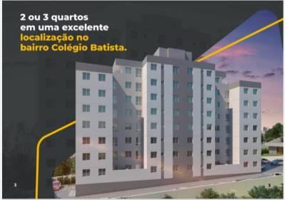Apartamento de 44,23m²,  à venda