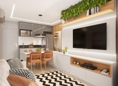 Apartamento de 47,08m²,  à venda
