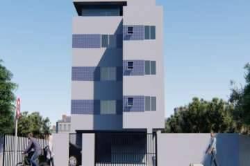 Área privativa de 43,62m²,  à venda