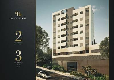 Apartamento de 54,87m²,  à venda