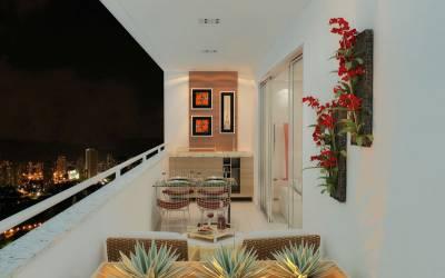 Apartamento de 99,71m²,  à venda