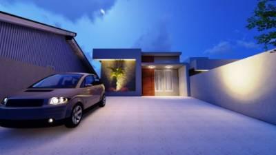 Casa de 107,00m²,  à venda