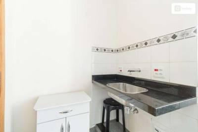 Apartamento de 27,00m²,  para alugar